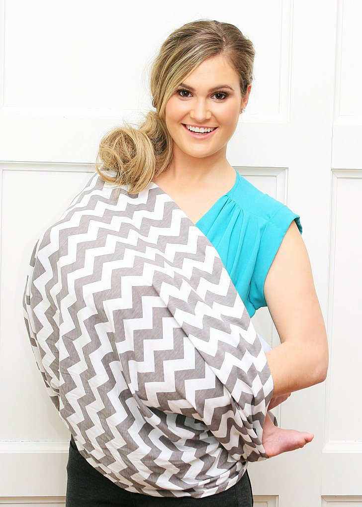 Itzy Ritzy Nursing Happens Infinity Breastfeeding Scarf