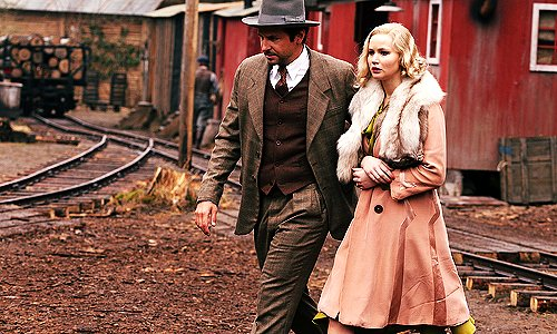 Pemberton and Serena make their way through town. Source: 2929 Entertainment