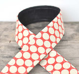 Red Dots Camera Strap