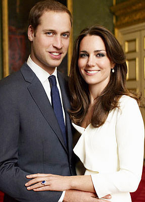 Prince William and Kate Middleton commissioned Mario Testino to take their engagement shots.