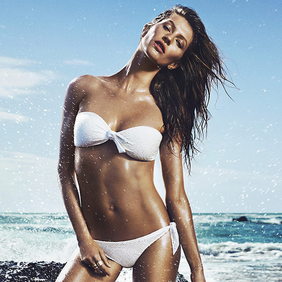 Gisele Bundchen Modelling Swimwear and Singing for H&M