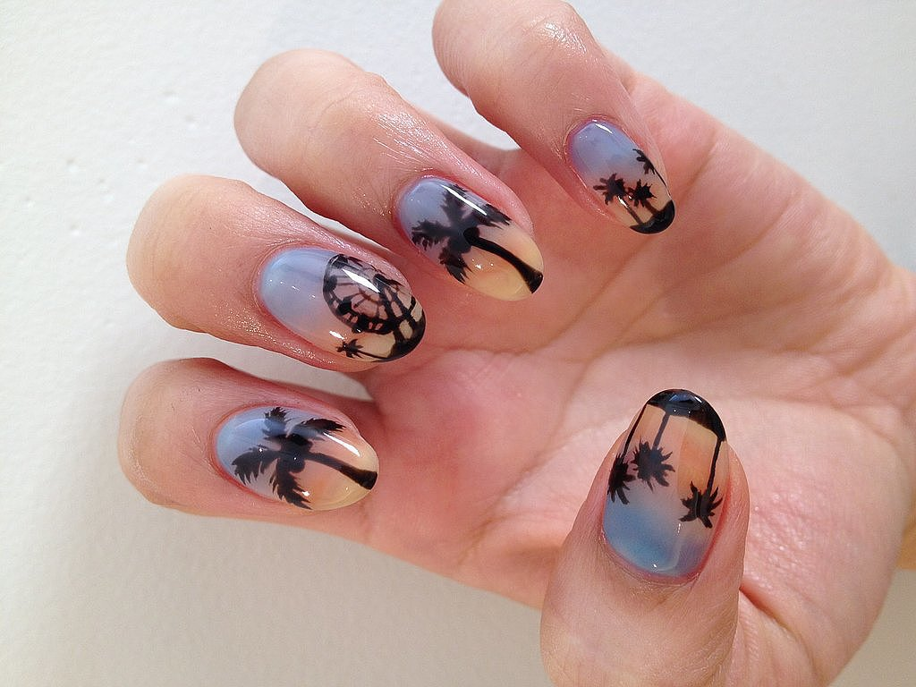 DIY This Psychedelic Music Festival Nail Art Now
