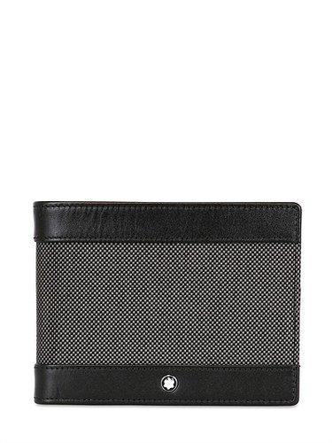 Montblanc - Meisterstuck Canvas 6cc Leather Wallet