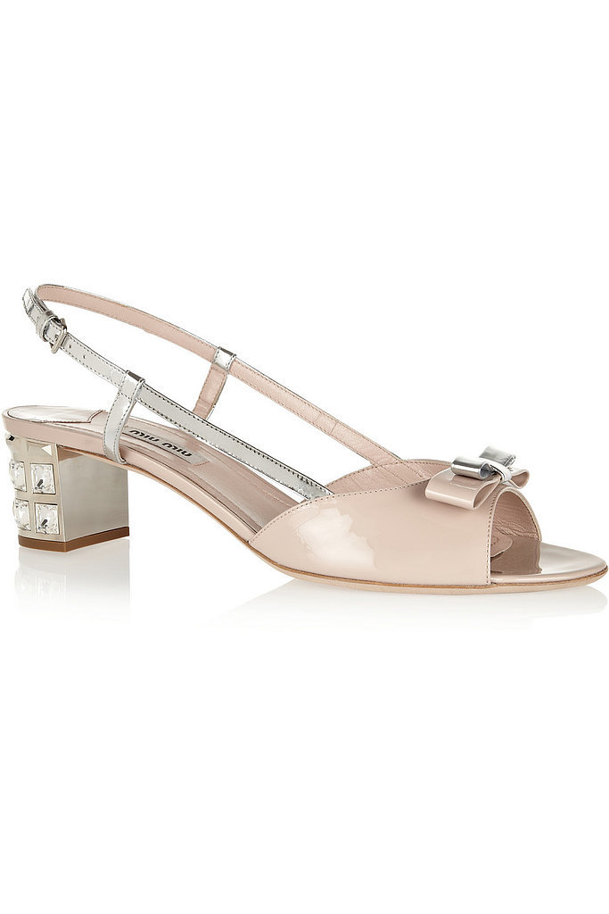 Miu Miu Embellished Sandals