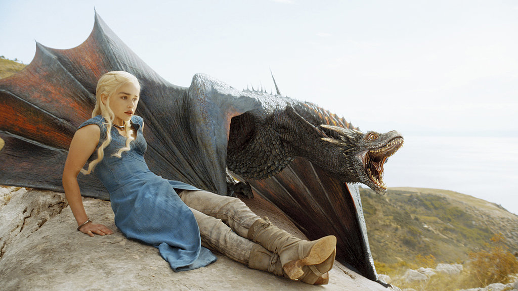 Dany and her dragon!