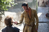 Things don't look so friendly between Oberyn and Tyrion.