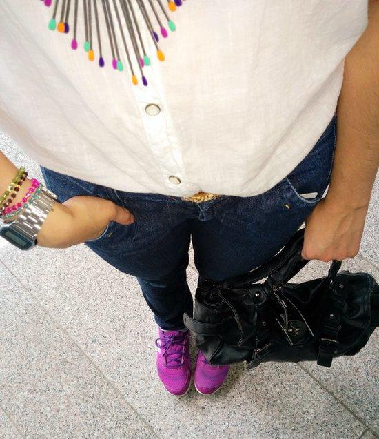 Sporty chic con color #Jfashionblog