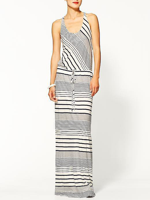 LA Made Striped Maxi Dress