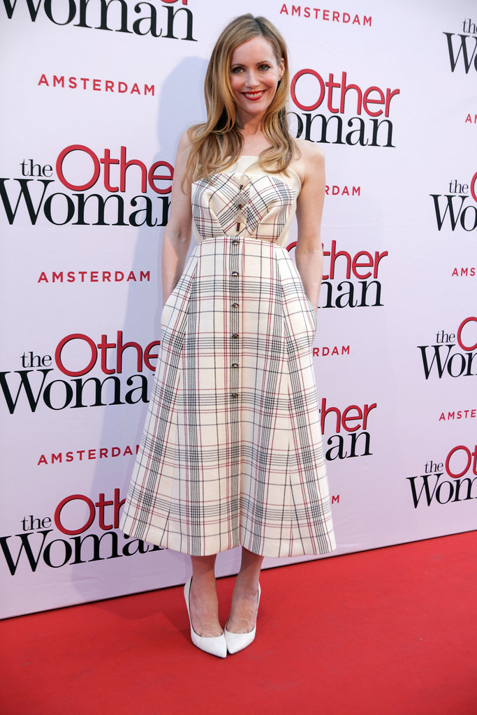 Leslie Mann at the Amsterdam Premiere of The Other Woman
