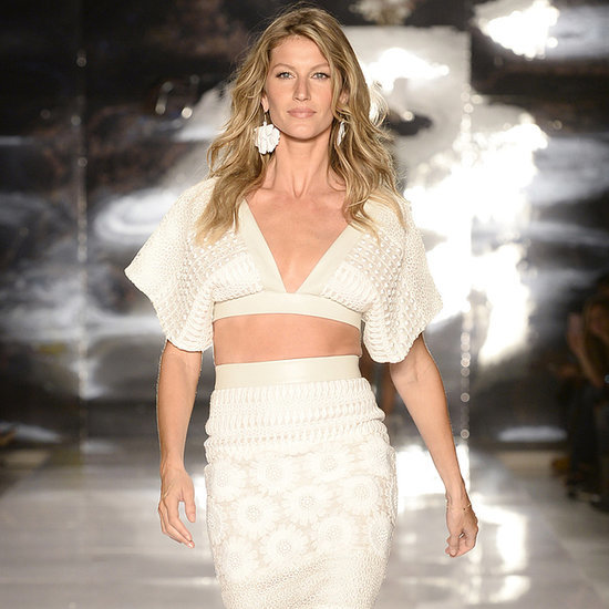 Gisele Bundchen at Sao Paulo Fashion Week Pictures