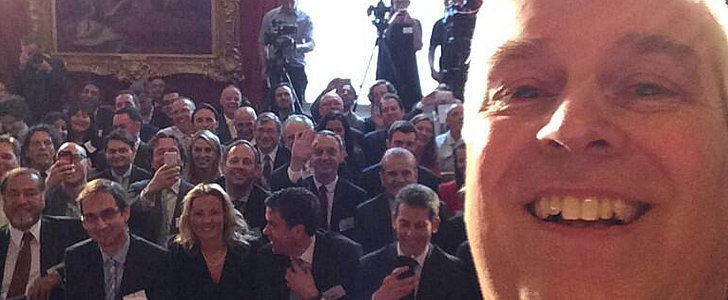 Even Royals Are Snapping Selfies These Days