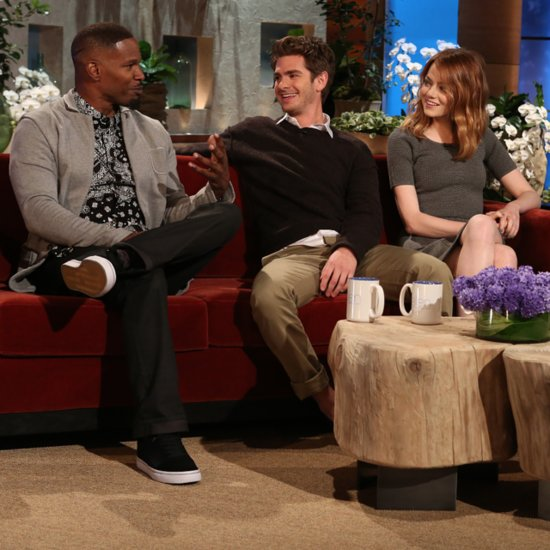 Emma Stone, Andrew Garfield and Jamie Foxx on The Ellen Show