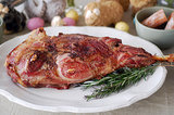 Rosemary-Roasted Leg of Lamb