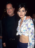 Courteney Cox hosted with Jon Lovitz.