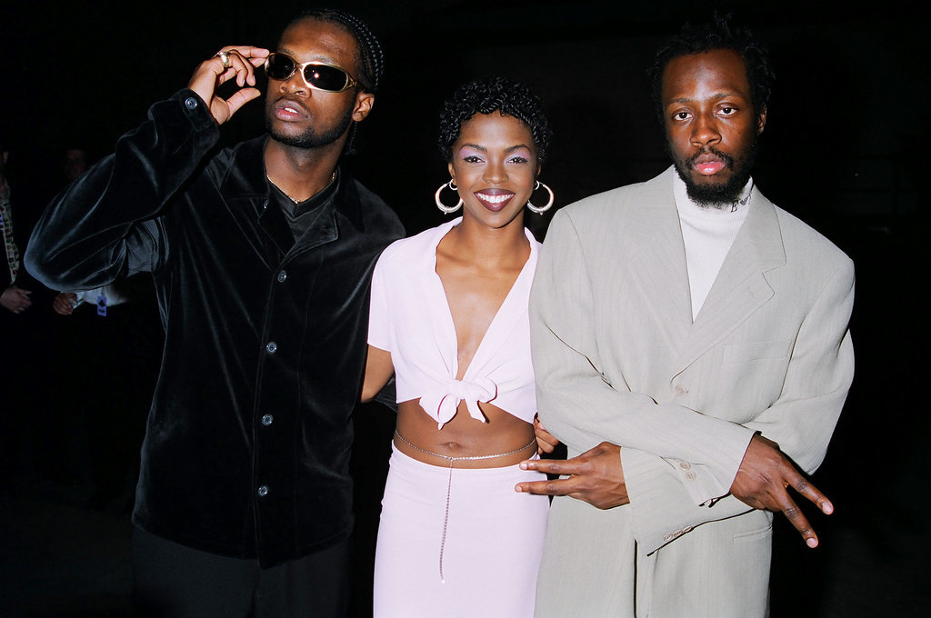 The Fugees took the stage.