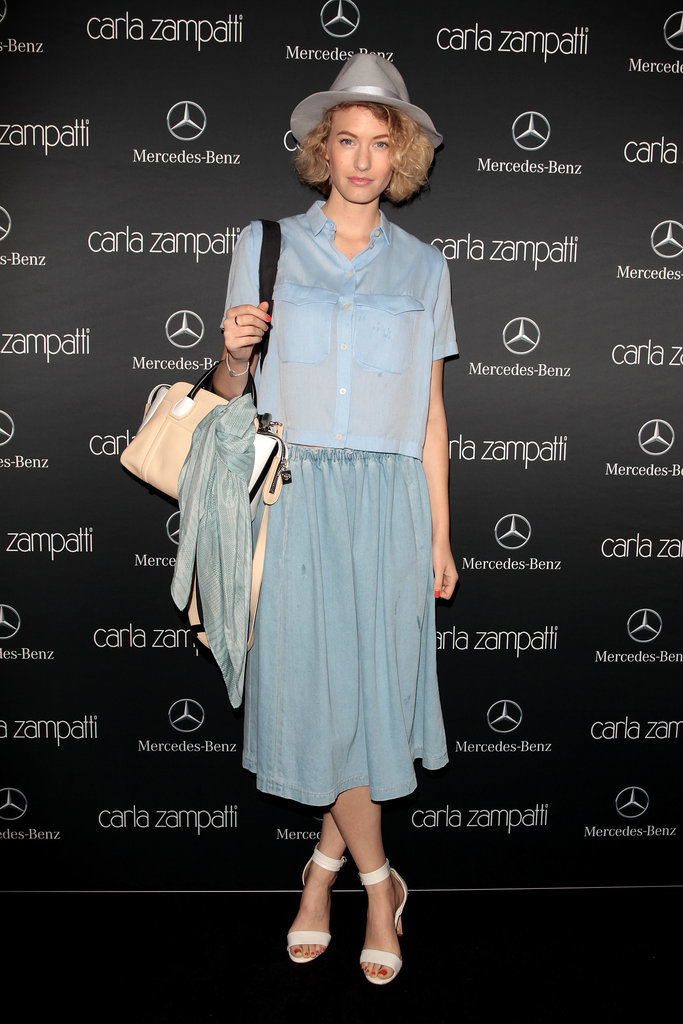 Zanita Whittington at MBFWA Day One