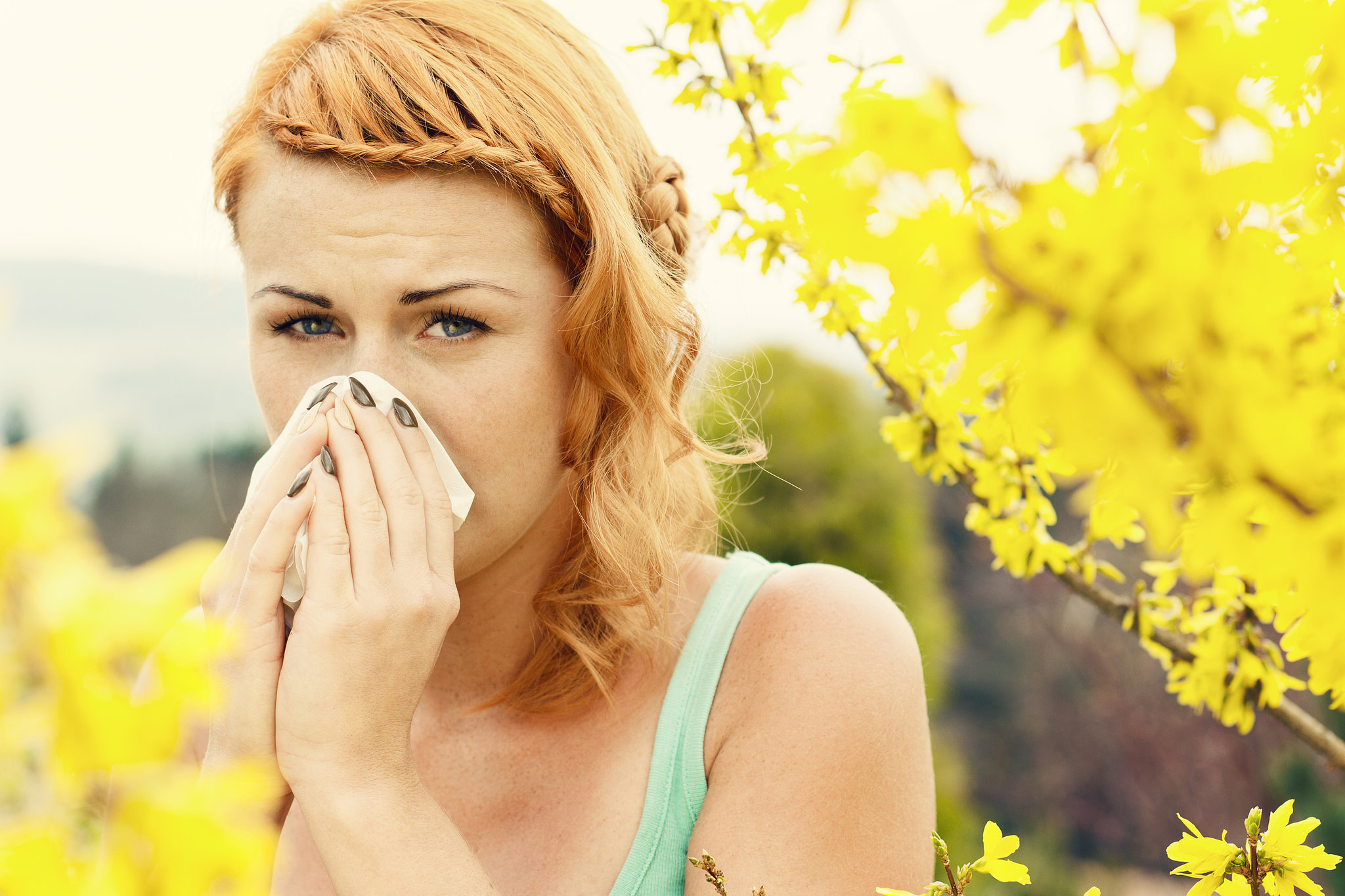 Spring Allergy Beauty Tips  POPSUGAR Beauty
