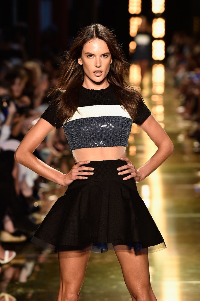 Alessandra Ambrosio for Alex Perry Spring Summer 2014/2015