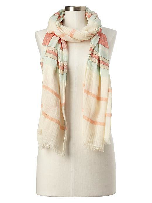 Gap Soft Stripe Scarf