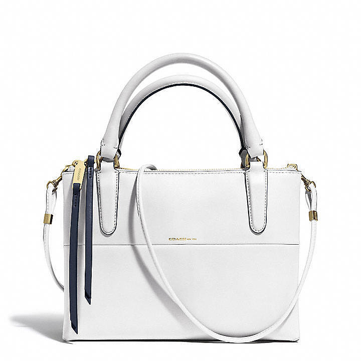 Coach Mini Borough Bag in White
