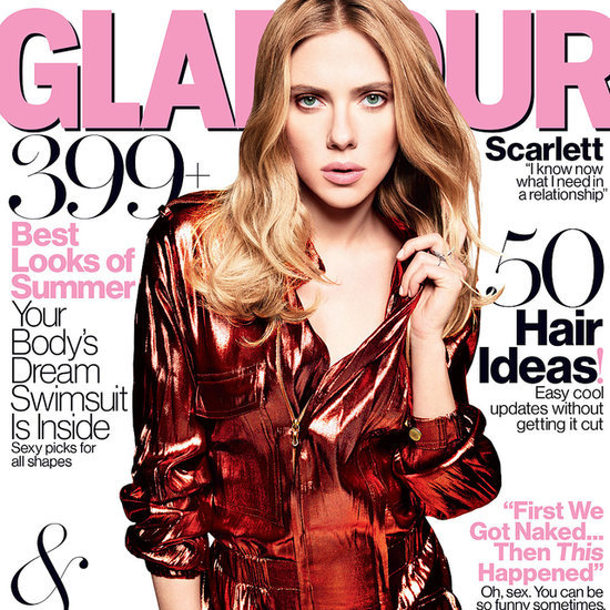 Scarlett Johansson Interview in Glamour Magazine May 2014