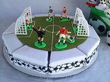 Soccer Onesie Cake