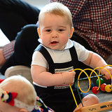 Video of Prince George Playing With Kids in New Zealand
