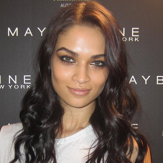 Shanina Shaik Beauty Swarovski 2014 Australian Fashion Week
