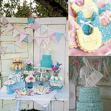 Your Guests Will Flip For This Vintage Baby-Shower Theme