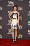 Emma Watson in Maxime Simoëns at 2013 MTV Movie Awards
