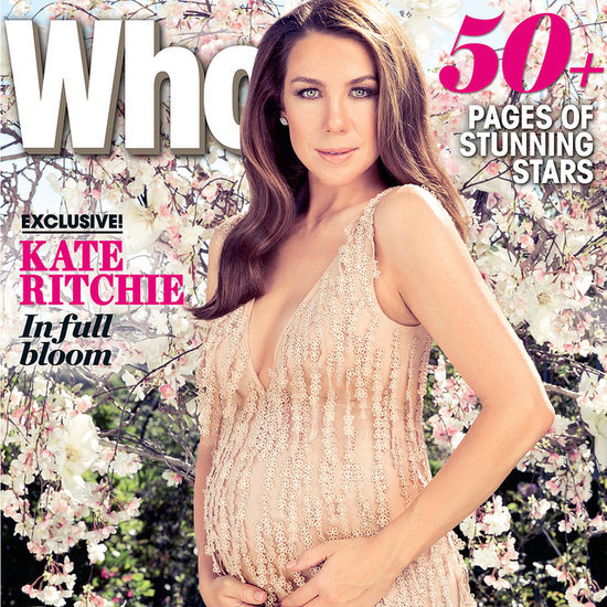 Pregnant Kate Ritchie Baby Bump on Who Most Beautiful Issue