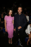 Crystal Reed and Darren McMullen at MBFWA Day Four