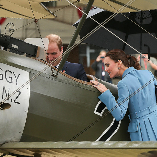 Prince William & Kate Middleton at WWI Memorial New Zealand