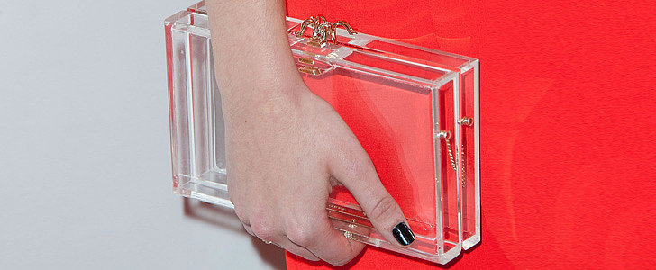 What NOT to Carry in Your Transparent Clutch