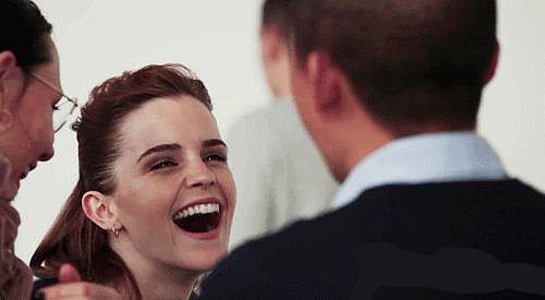 We love her infectious laugh.