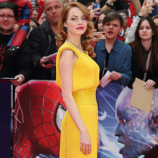 Emma Stone on The Amazing Spiderman Premiere Red Carpets