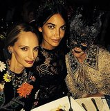 Lauren Santo Domingo, Lily Aldridge, and Tabitha Simmons