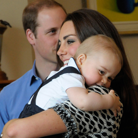 Prince William, Kate Middleton and George on Royal Tour 2014