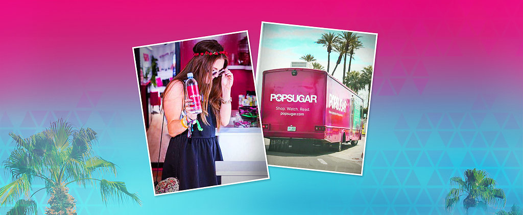 Stop by the POPSUGAR Refresh, Relax, and Remix Lounge!