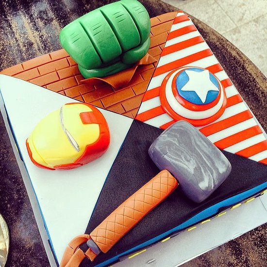 Superhero Birthday Cake Ideas