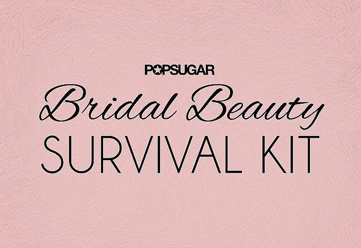 Even the most prepared bride can encounter beauty mishaps on her wedding day. But you've spent so much time getting ready; it would be a shame to not be prepared in case something goes awry. Never fear, though, POPSUGAR Beauty's bridal survival kit is your new best friend when it comes to the ceremony and reception.