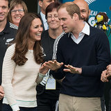 Prince William and Kate Middleton in Dunedin, New Zealand