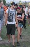 Sarah Hyland and Matt Prokop stayed close.