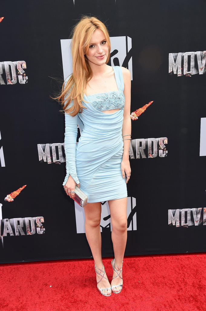 Bella Thorne at the 2014 MTV Movie Awards