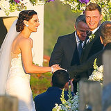 Nick Carter's Wedding Pictures in Santa Barbara