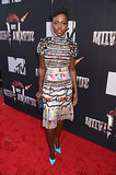 Lupita Nyong'o at the 2014 MTV Movie Awards