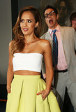 Johnny Knoxville photobombed Jessica Alba.