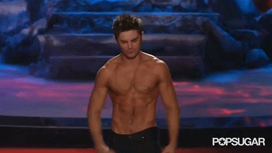 When Zac Efron Stopped Our Hearts With His Flexing