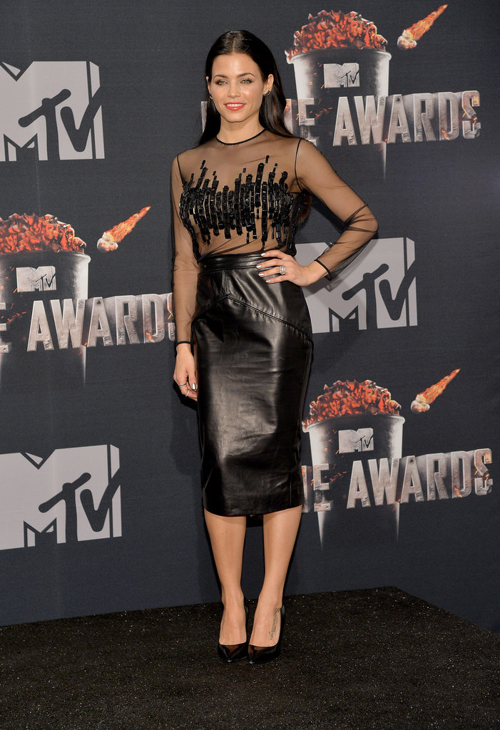 Jenna Dewan at the 2014 MTV Movie Awards