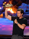 Mark Wahlberg then gave a bizarre speech that we won't soon forget.